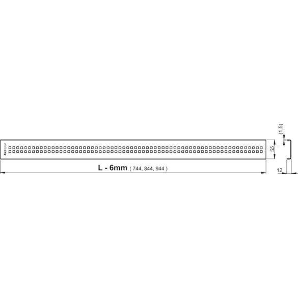 Zuhanyfolyóka Alcaplast APZ9 Simple