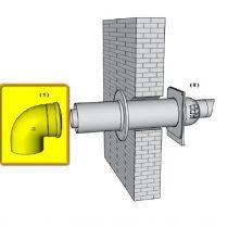 brilon pps-alu 80/125 90°-os könyök