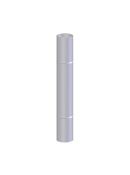 Tricox PP polipropilén flexibilis 80 mm-es füstcső