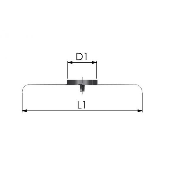 Tricox központosító idom 80 mm