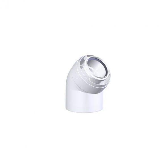 tricox pps-alu 60/100 koncentrikus füstcső könyök