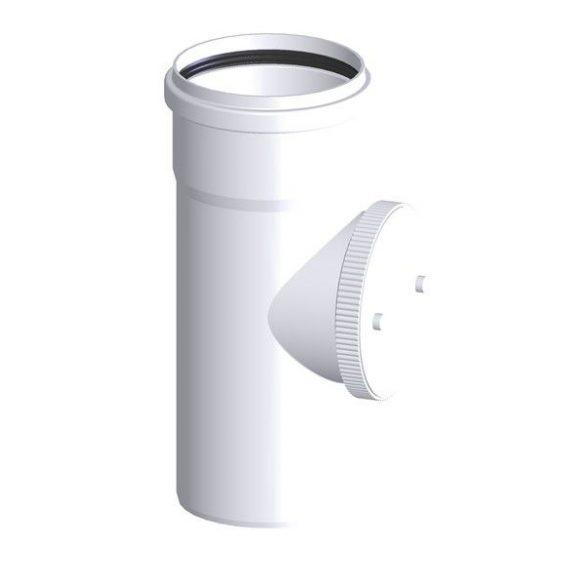 Tricox polipropilén füstcső ellenőrző idom 80 mm