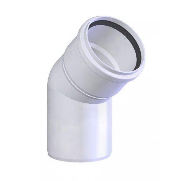 Tricox polipropilén pps füstcső könyök 80 mm