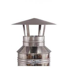 INOX-ALU 150/250 SZERELT KÉMÉNY