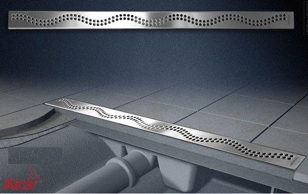 Alcaplast zuhanyfolyóka APZ8 Simple, 650 mm, rozsdamentes folyóka ráccsal