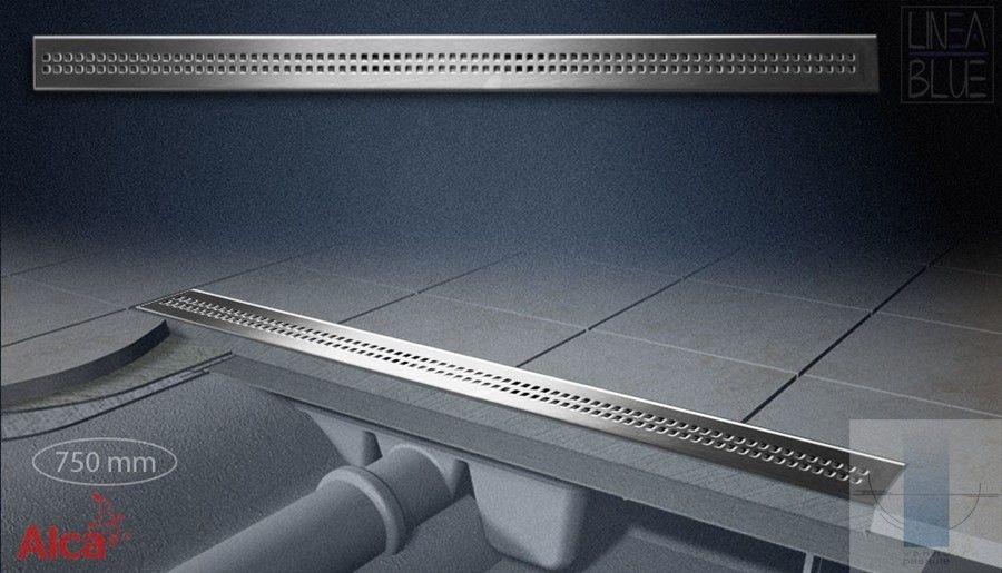 Alcaplast zuhanyfolyóka APZ9 Simple, 650 mm, rozsdamentes folyóka ráccsal