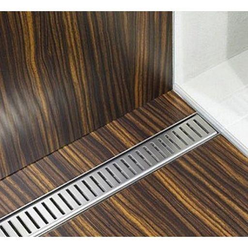 Alcaplast Pure zuhanyfolyóka rács, rozsdamentes acél