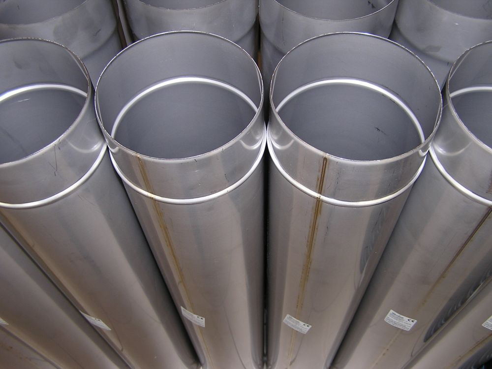 Saválló kémény béléscső vegyes tüzeléshez DN110/1000 mm PRÉMIUM