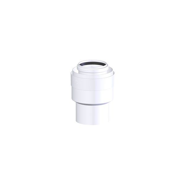 Tricox PPs/Alu bővítő idom 60/100-80/125 mm